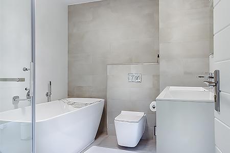 ПВХ плиты в ванной комнате